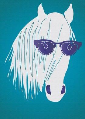 Pop Art Star Horse