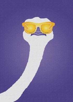 Pop Art Star Ostrich