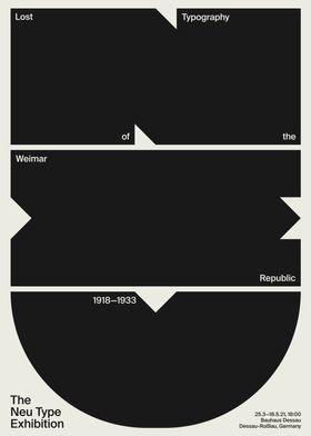 The Neu Type Exhibition