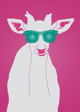 Pop Art Star Roe Deer