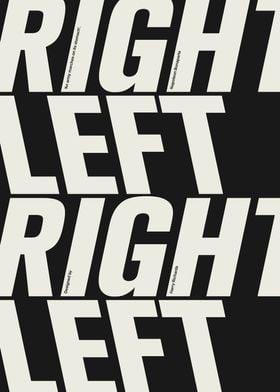 Right Left Right Left
