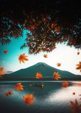 Reflection Mount Fuji