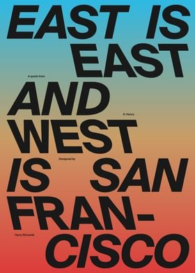 West is San Francisco