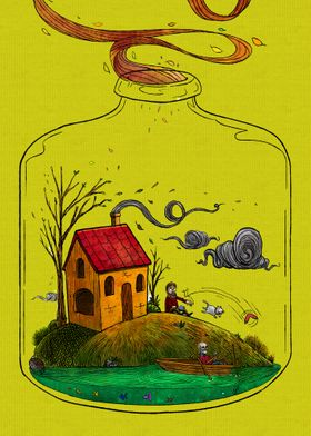 Time in a bottle autmn