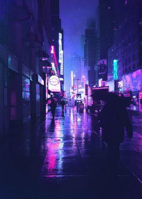 Neon Street city