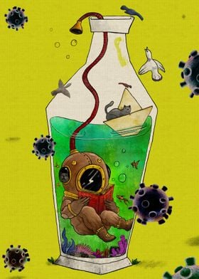 quarantine in the corona