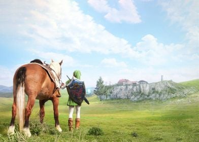 Ocarina Of Time Zelda Epon