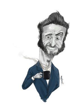 Hugh Jackman Caricature 2