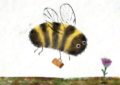 bumble bee & honey