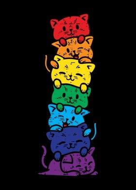 Cat Stack LGBT Pride