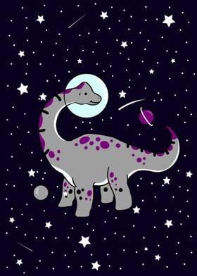 Brachiosaurus in Space