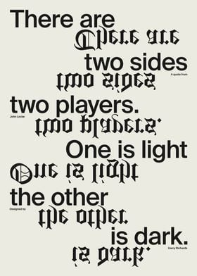 There Are Two Sides