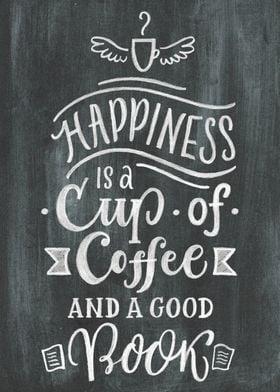 coffee chalk board sign