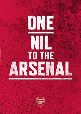 One Nil to the Arsenal