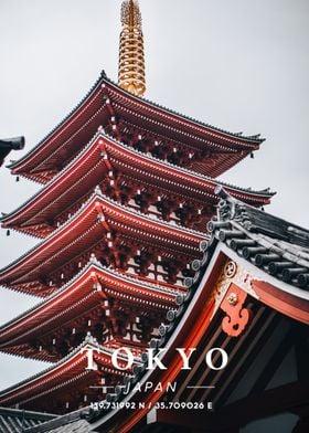 Tokyo Coordinate Art