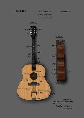 guitar patent color 5a