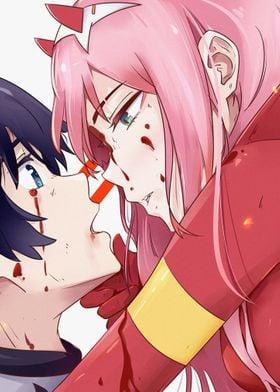 Hiro Zero Two Girl