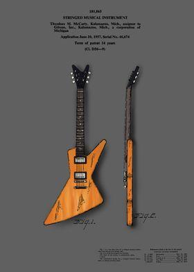 guitar patent color 4a