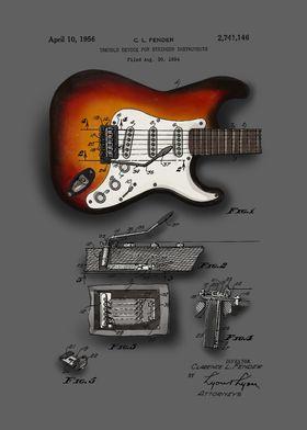 guitar patent color 6a