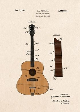 guitar patent color 5