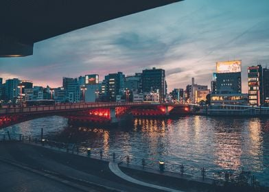 Tokyo on water