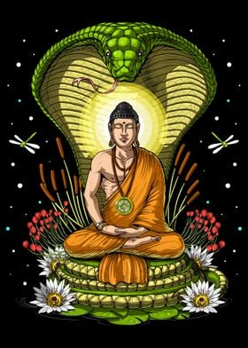 Buddha Cobra Meditation