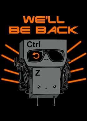 We will be back