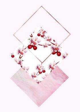 Cherry Polygonal I