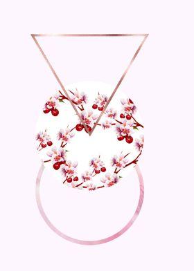 Cherry Polygonal 4