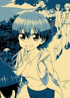 Uzaki chan Serie Poster