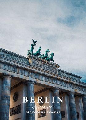 Berlin Coordinate Art