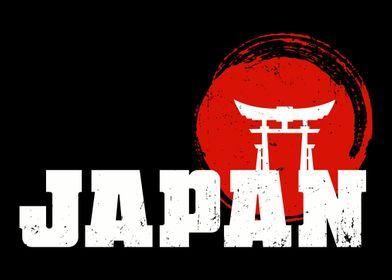 Japan Flag Traveler