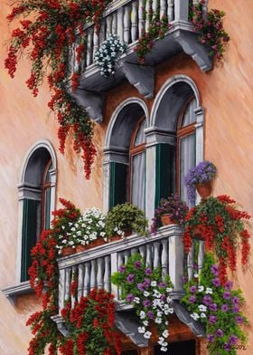 Romantic Balconies