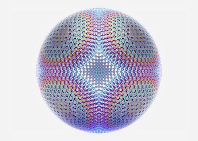 3d art fractal ball