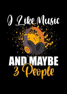 I Like Music 3 People