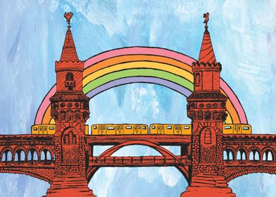 Rainbow Oberbaum Bridge