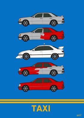 TAXI Film Cars