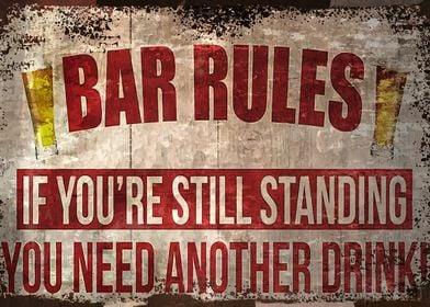 Bar Rules