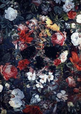 Flower Skull II
