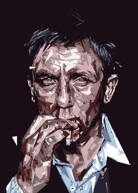 Daniel Craig Abstract
