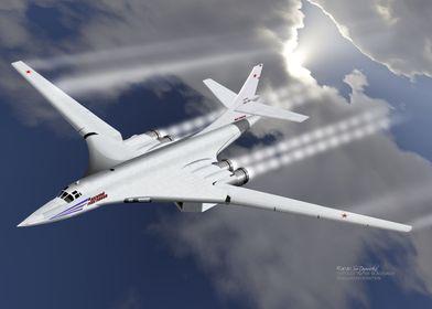 Russian Tupolev TU160