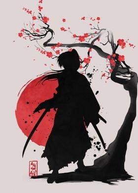 Samurai Shillouette 02