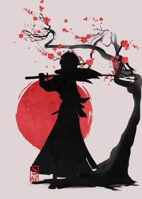 Samurai Shillouette 03