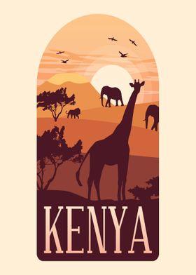 KENYA AFRICA SAVANNAH