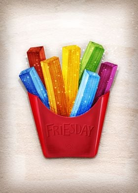 FRIESday is the best day