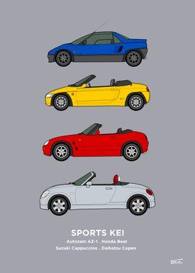 Kei Car Collection