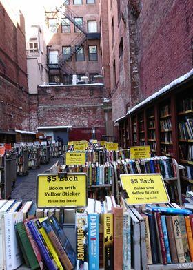 Street Library In Boston
