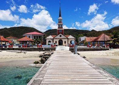 Martinique church