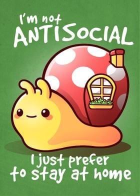 Antisocial snail