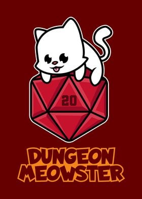 Pen And Paper Dungeon Cat